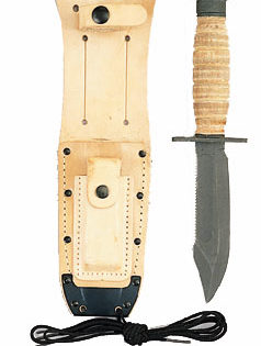 Pilot survival knife